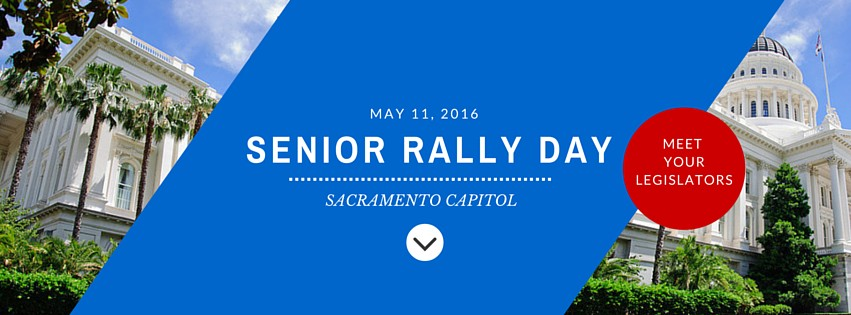 Senior Rally Day in Sacramento