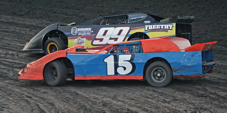 Antioch Speedway action from 2015.