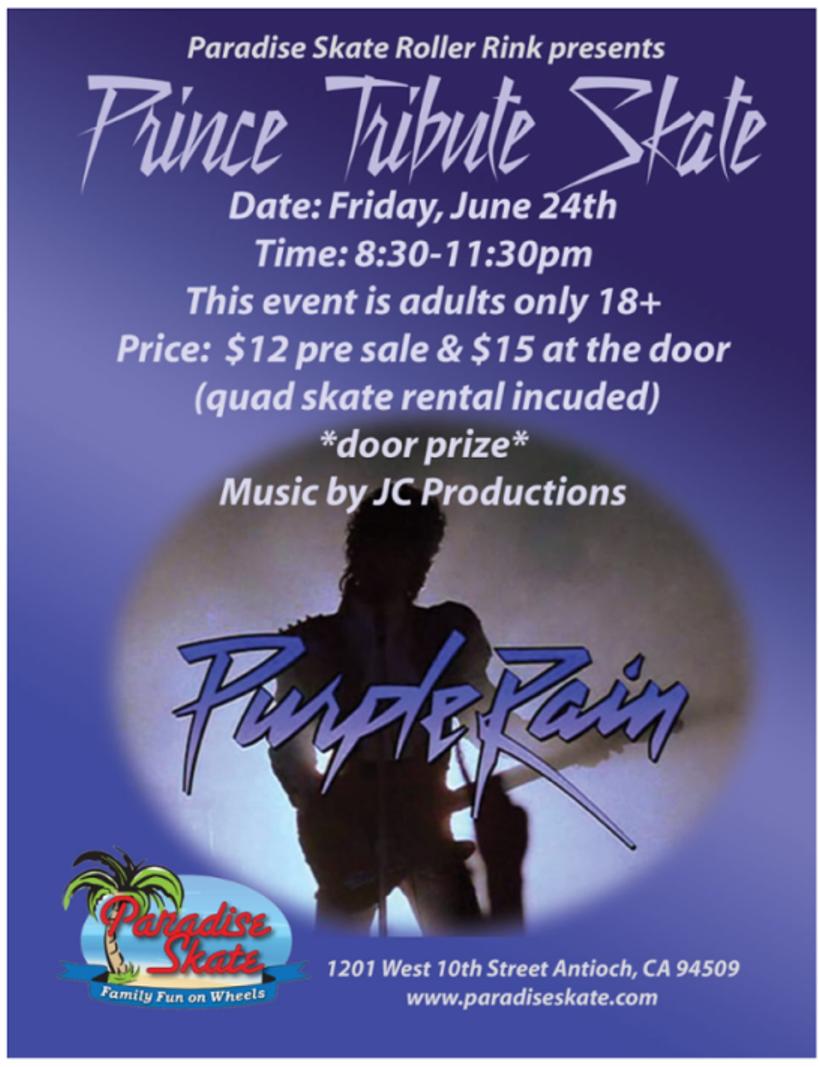 Prince Tribute Skate ad