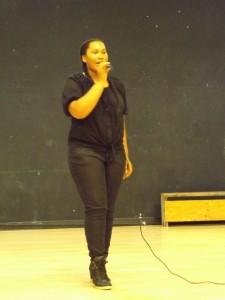 Xavia Tanner performed NO by Meghan Trainor.