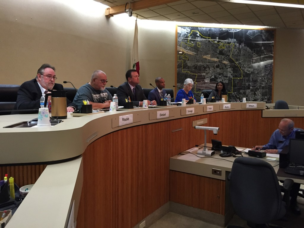 Antioch City Council candidates give their opening statements at the forum hosted by the Friday Morning Breakfast Club in the Council Chambers, Tuesday night, September 6, 2016.