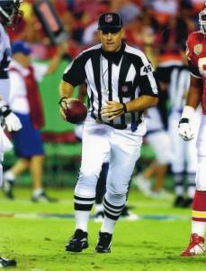 Rich Hall, NFL Umpire