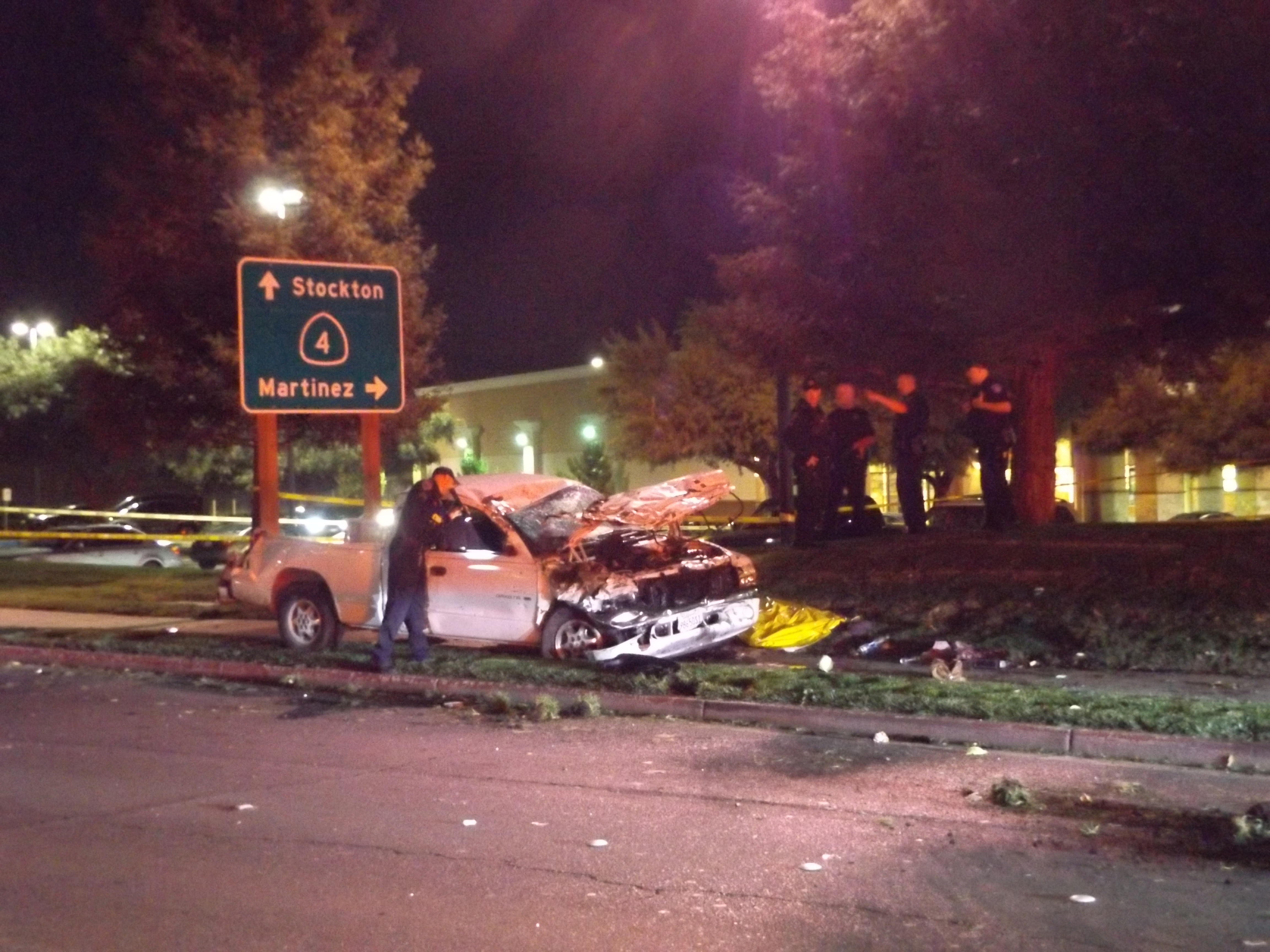 accident in brentwood ca
