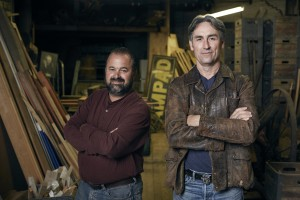 Frank Fritz and Mike Wolfe of the American Pickers TV show.