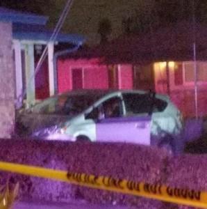 Car crashes into house close up final