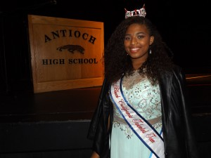 Antioch High student Claryssa Wilson and the Miss Black California Talented Teen provided a special presentation at the event.