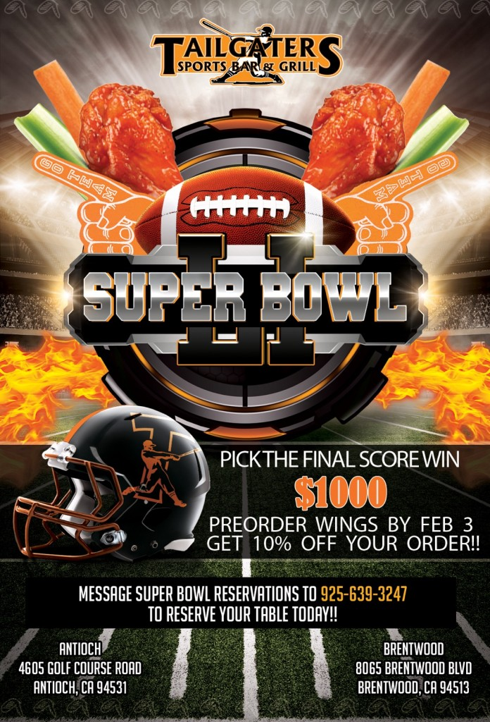 Tailgaters Super Bowl promo