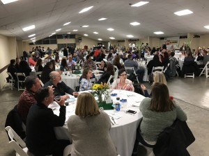 The annual fundraising dinner was well attended by supporters of the County Fair.