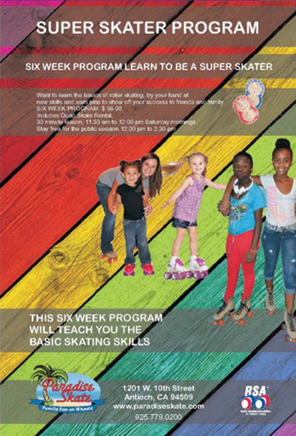 Paradise Skate program