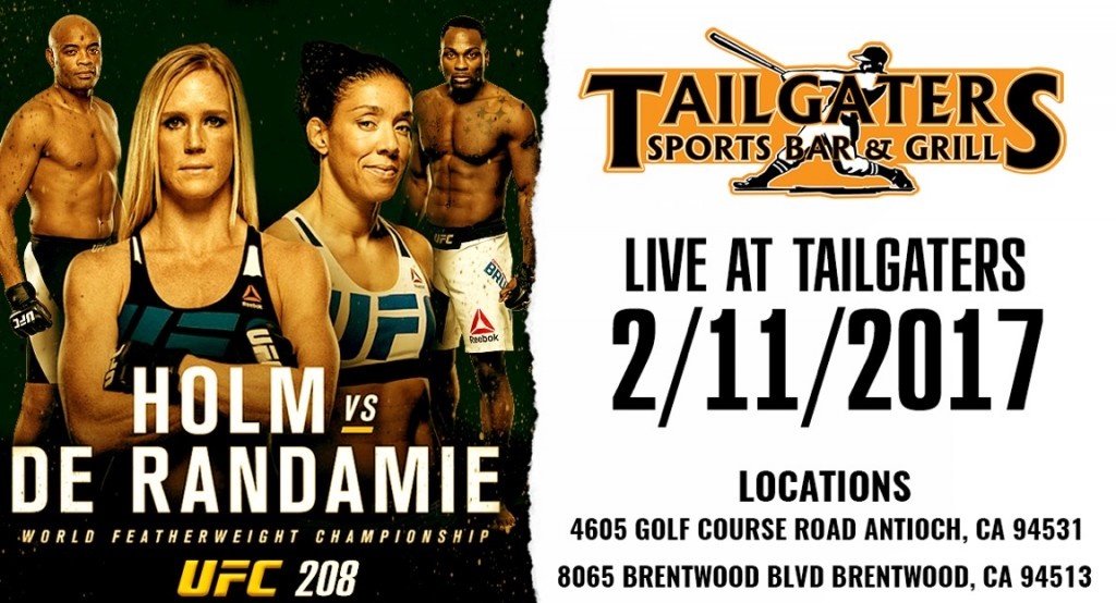 Tailgaters UFC 02-11-17