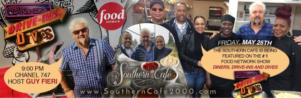 Southern Cafe To Be Featured On Food Network Tv Show Friday May 25