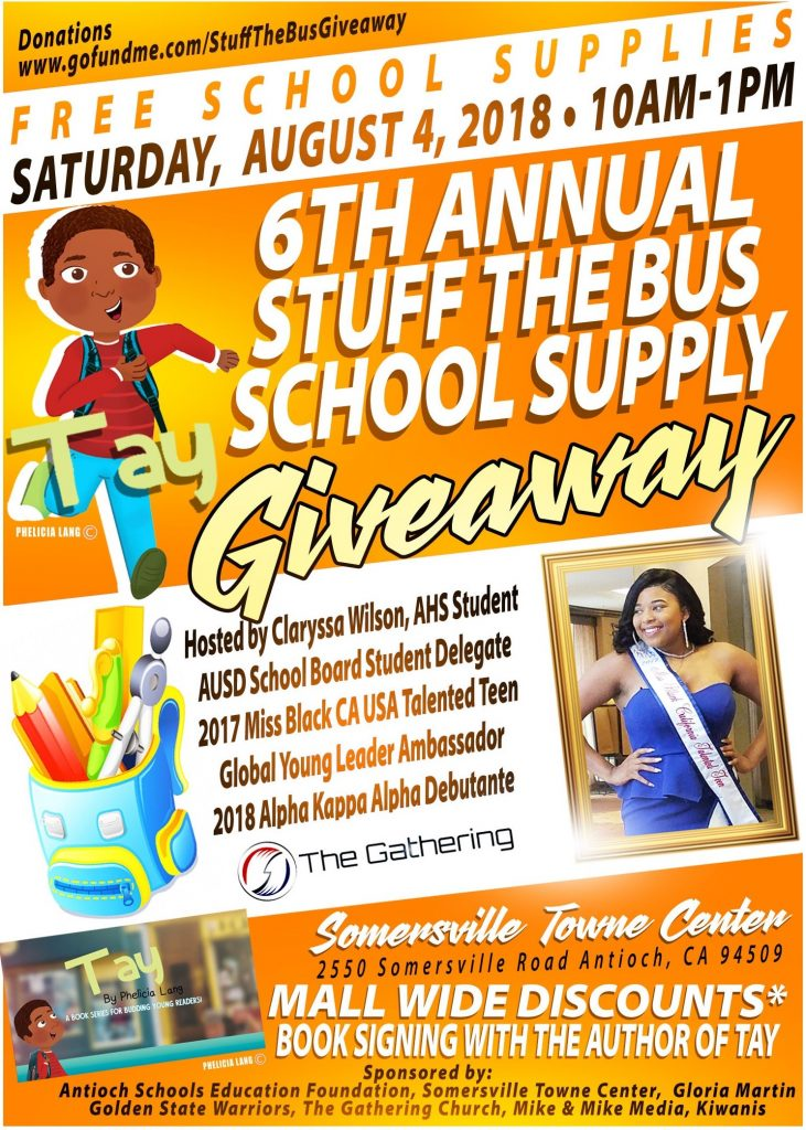 6th Annual Stuff The Bus School Supply Giveaway Saturday