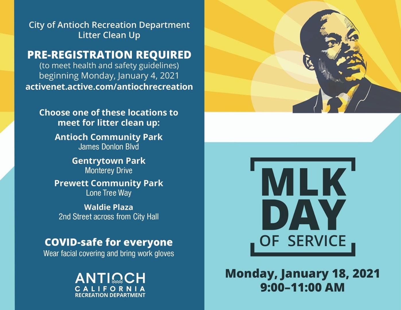 Antioch hosts MLK Day of Service Monday, Jan. 18 | Antioch ...